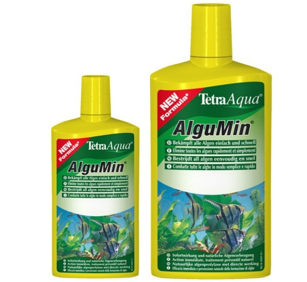 Средство Tetra AlguMin для борьбы с водорослями, 500 мл, цена 349,30 ...