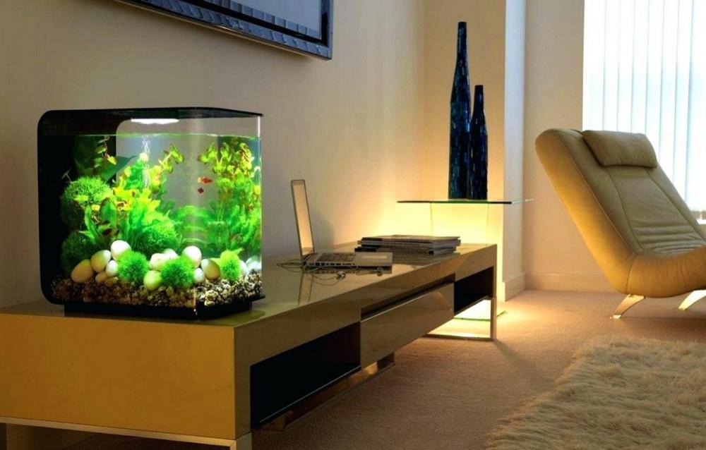 Аквариум в доме: настоящий или имитация. Интерьеры с аквариумами ...