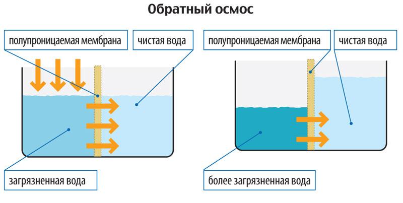 Чистая вода - из крана. Фильтры обратного осмоса - устройство и ...