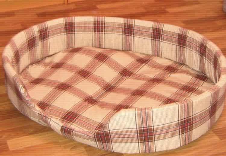 кровать для собаки своими руками