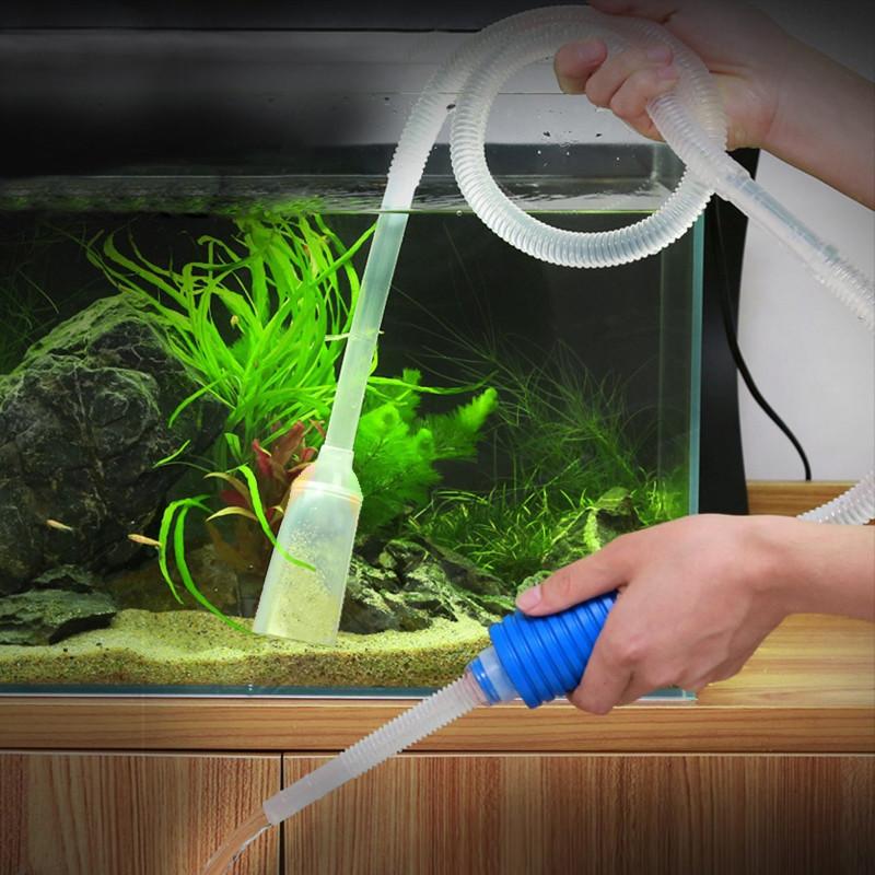 сифон для чистки грунта аквариума