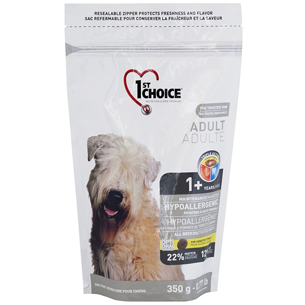 гипоаллергенный корм для собак мелких пород